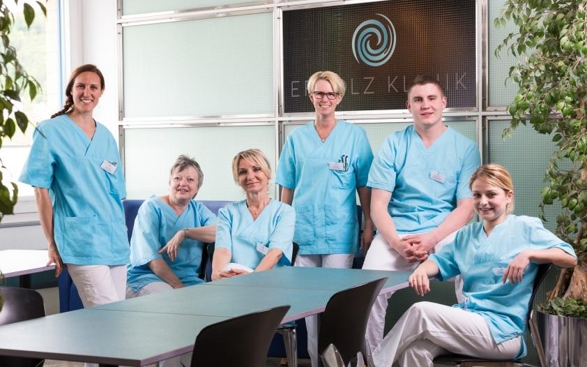 Pflegeteam in der Ergolz-Klinik